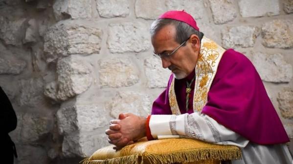 Đức TGM Pizzaballa chúc lành cho Jerusalem thay vì cuộc rước lá