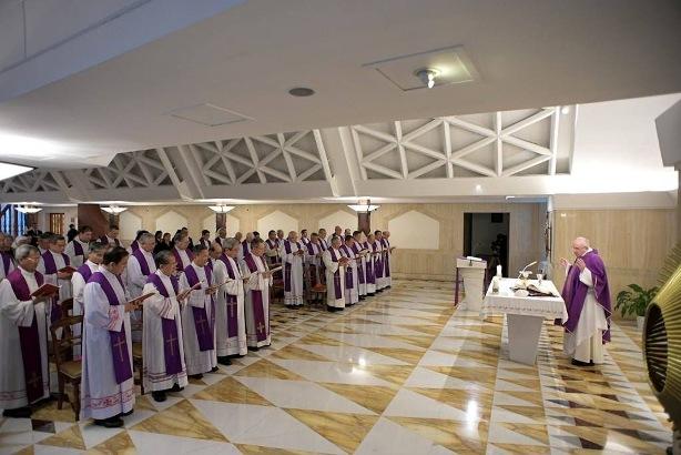 Các Giám mục Việt Nam đồng tế thánh lễ với Đức Giáo hoàng Phanxicô