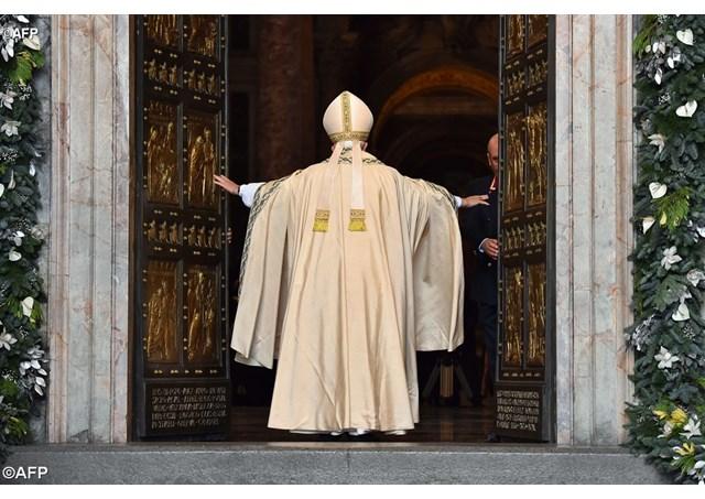 Các đặc sứ của ĐGH sẽ đóng Cửa Thánh của các Vương cung thánh đường ở Roma