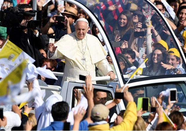 Đức Giáo hoàng Phanxicô cử hành Thánh lễ đầu tiên tại Chile