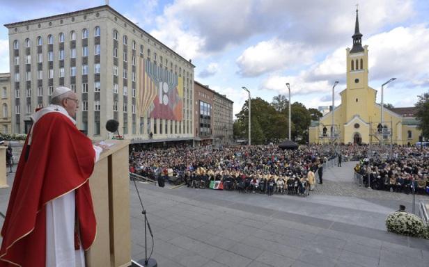 ĐGH Phanxicô dâng Thánh lễ tại quảng trường Tự do ở Tallin, Estoni