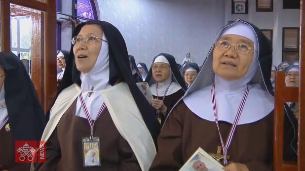 ĐGH Phanxicô gặp các linh mục, tu sĩ, chủng sinh và giáo lý viên Thái Lan
