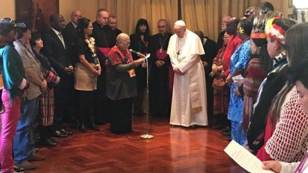 ĐGH Phanxicô gặp đại diện các dân tộc bản địa tại IFAD