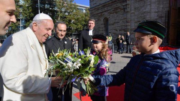 ĐGH Phanxicô gặp gỡ đại kết với các bạn trẻ Kitô giáo tại Estoni