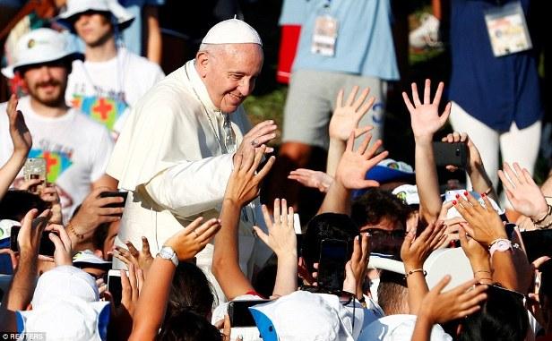 ĐGH Phanxicô gặp gỡ cầu nguyện với các bạn trẻ Italia