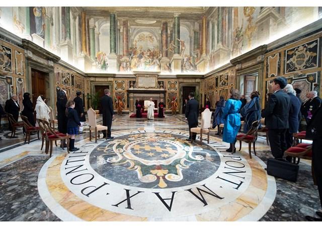 Đức Giáo hoàng Phanxicô kêu gọi Cộng đồng Quốc tế gia tăng liên đới