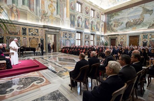 Đức Giáo hoàng Phanxicô: An ủi mục vụ là mục tiêu của các quy tắc mới về hôn nhân