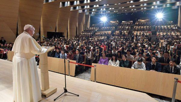 ĐGH Phanxicô thăm đại học Sophia của dòng Tên ở Nhật Bản