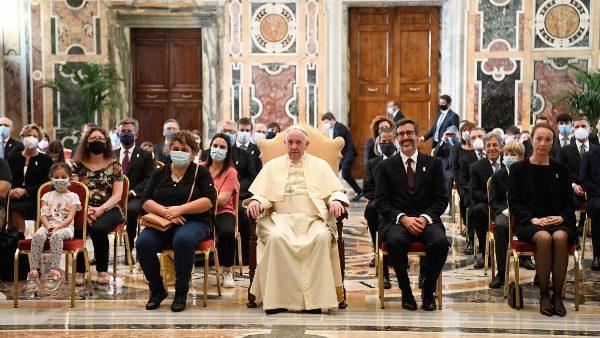 Đức Giáo hoàng tiếp Hội Bác Ái thánh Phêrô