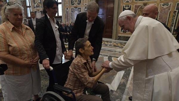 ĐGH Phanxicô tiếp Hiệp Hội bảo vệ công nhân tàn phế