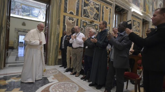 ĐGH Phanxicô gặp gỡ các linh mục Pháp