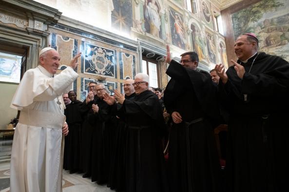 ĐGH Phanxicô tiếp Học viện Thánh Augustino ở Roma