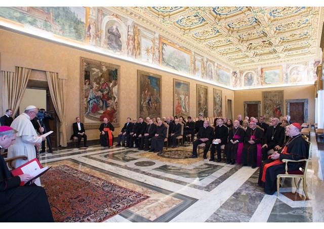 Đức Giáo hoàng Phanxicô tiếp kiến các thành viên Bộ Giáo lý Đức tin