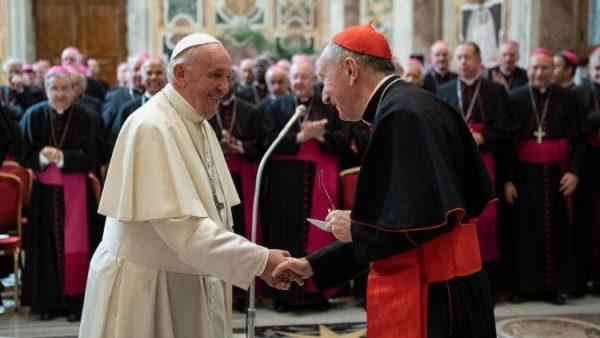 ĐGH Phanxicô tiếp kiến các nhà ngoại giao Tòa Thánh