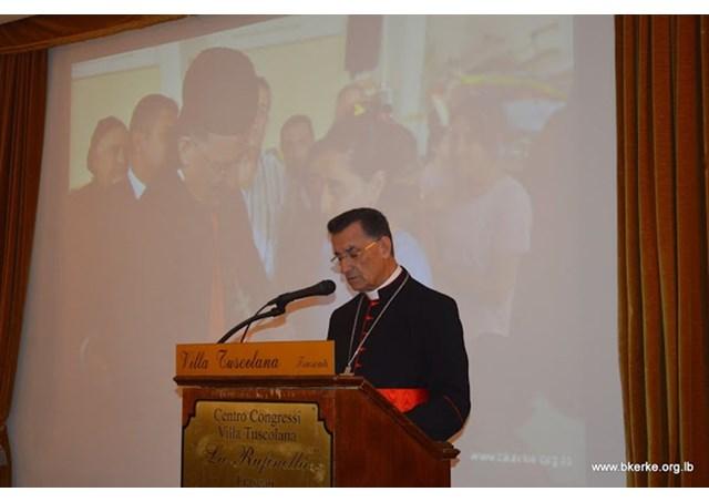 ĐHY Béchara Rai kêu gọi các cường quốc tái lập hòa bình tại Siria
