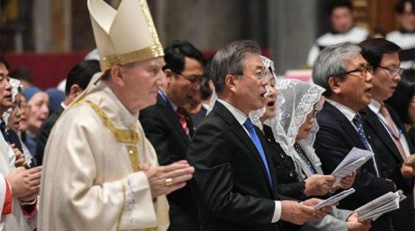 ĐHY Parolin chủ lễ cầu cho hòa bình tại Triều Tiên