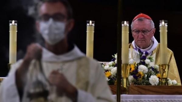 Đức Hồng y Quốc Vụ khanh chủ sự thánh lễ tại Lộ Đức
