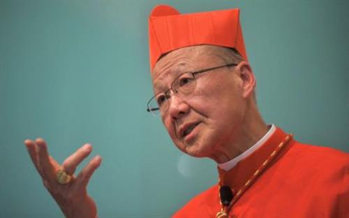 Đức Hồng y Thang Hán: Thật vô lý khi phản đối cuộc thương thảo Vatican-Trung Quốc
