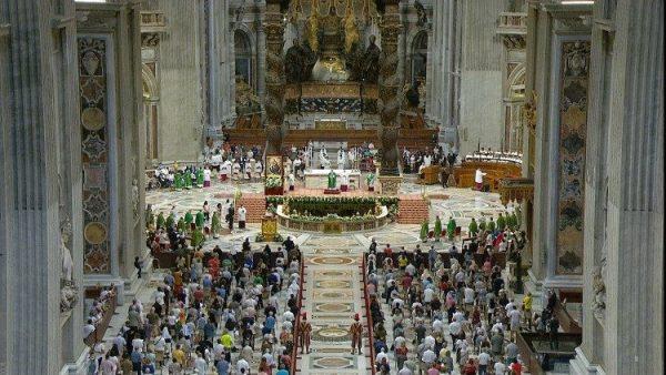 Thánh lễ Ngày Thế giới Ông bà và Người cao tuổi lần thứ nhất tại Vatican