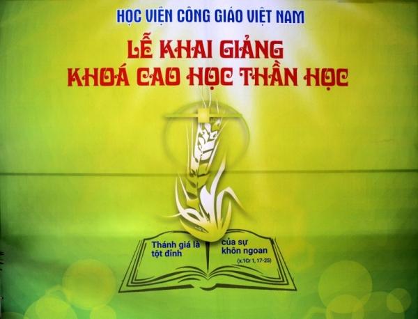 Học viện Công giáo Việt Nam: Khai giảng Khóa học đầu tiên