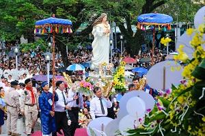 Thánh Lễ Khai Mạc Năm Thánh Đức Mẹ Trà Kiệu