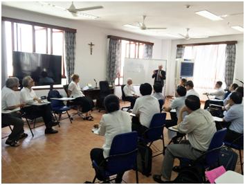 Trưởng khoa Thần Học và Nghiên Cứu Tôn Giáo Vương quốc Bỉ, thăm Học viện Công Giáo Việt Nam