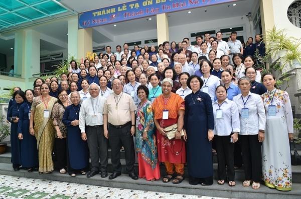 Họp mặt Liên Tu hội đời Việt Nam với Ban Điều hành Liên hiệp Tu hội đời Châu Á