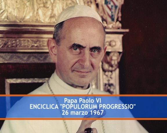 Kỷ niệm 50 năm Thông điệp Populorum Progressio