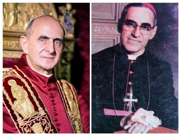 Chân phước Giáo hoàng Phaolô VI và Chân phước Oscar Romero sẽ được tuyên thánh