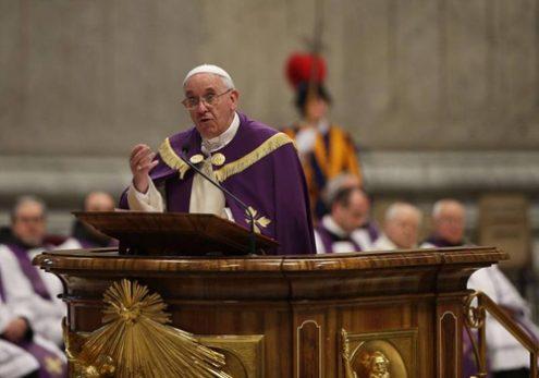 Sứ điệp Mùa Chay 2018 của Đức Giáo hoàng Phanxicô
