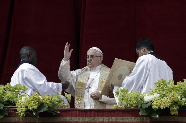 Sứ điệp Phục sinh 2018 của Đức Giáo hoàng Phanxicô