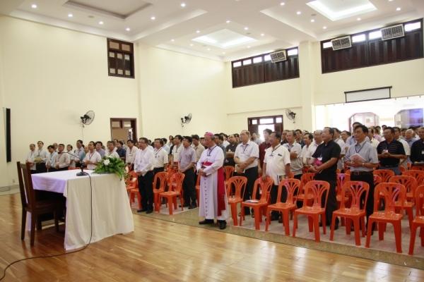 Tuần Thường huấn Linh mục Tổng Giáo phận Sài Gòn 2017