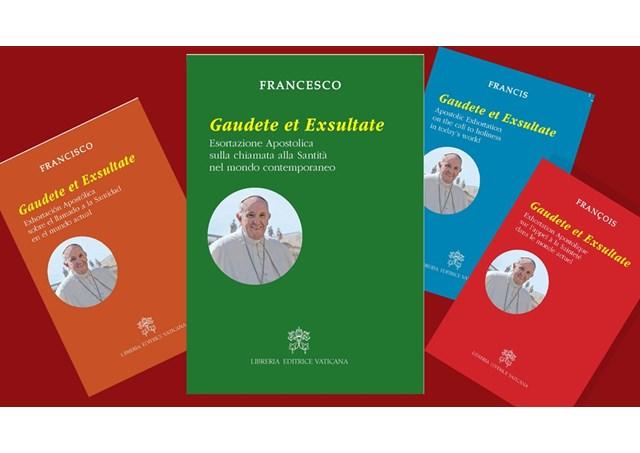 Tông huấn mới của Đức Giáo hoàng Phanxicô về việc nên thánh