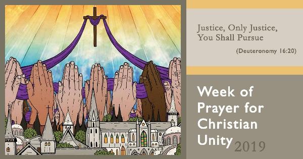 Sứ điệp của Tổng Phục vụ cho Tuần Lễ Cầu nguyện cho sự Hiệp nhất Kitô giáo