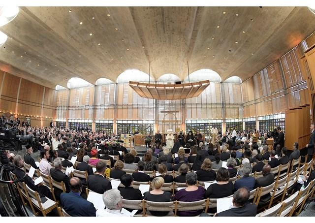 Đức Giáo hoàng Phanxicô chủ sự buổi cầu nguyện đại kết tại Genève, Thụy Sĩ