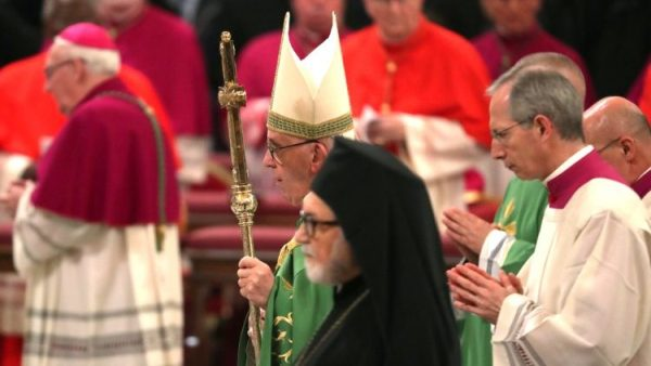 ĐGH Phanxicô chủ sự Kinh Chiều cầu nguyện cho sự hiệp nhất các Kitô hữu