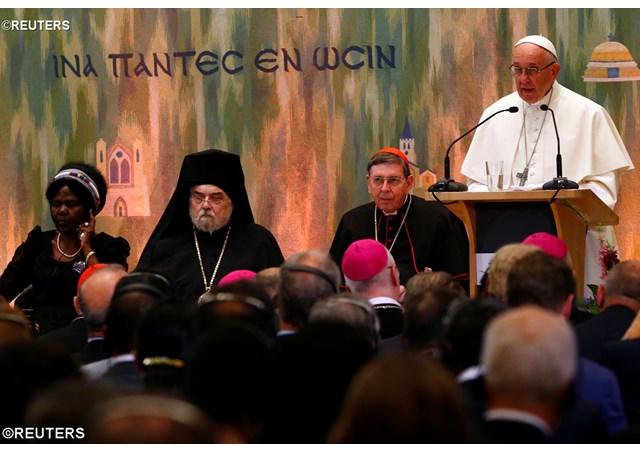 Đức Giáo hoàng Phanxicô tham dự cuộc gặp gỡ đại kết