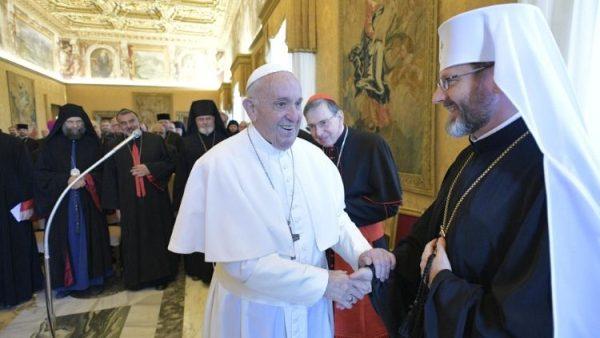 ĐGH Phanxicô mời gọi các Giám mục Công giáo Đông phương hiệp nhất