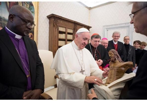 Đức Giáo hoàng Phanxicô gặp tân Chủ tịch Liên đoàn Tin Lành Luther Thế giới