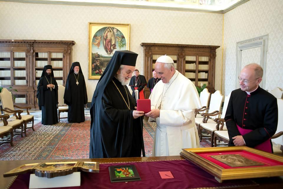 ĐGH Phanxicô tiếp phái đoàn Tòa Thượng Phụ Chính Thống Constantinople
