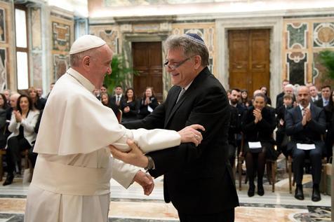 Đức Giáo hoàng Phanxicô tiếp phái đoàn Do Thái giáo