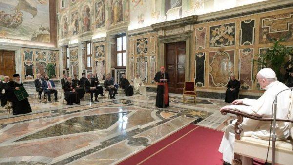 ĐGH tiếp nhóm làm việc hỗn hợp Chính Thống-Công giáo