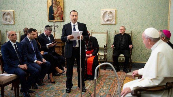 ĐGH Phanxicô tiếp phái đoàn Rabbi Do thái vùng Caucaso