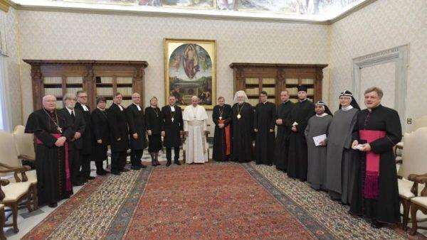 ĐGH Phanxicô tiếp Phái doàn đại kết Kitô Phần Lan