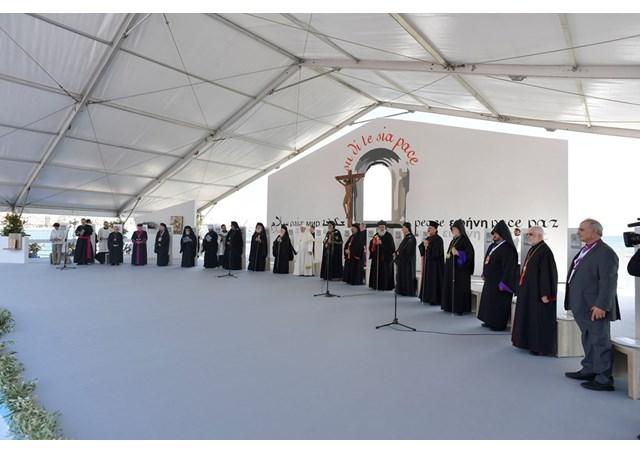 ĐGH Phanxicô và các Thượng Phụ cầu nguyện cho hòa bình Trung Đông