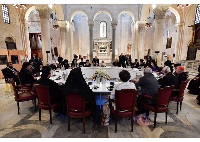 Hội nghị giữa ĐGH Phanxicô và các vị lãnh đạo Kitô