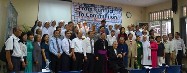 Buổi gặp gỡ đại kết tại Trung tâm Mục vụ Sài Gòn (21.1.2017)