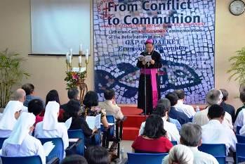 Buổi Suy Tôn Lời Chúa cầu nguyện cho các Kitô hữu hiệp nhất