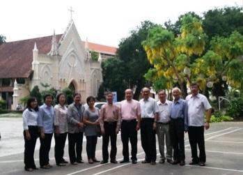 Gặp gỡ Hội Thánh Tin Lành Lutheran VN (14.1.2017)