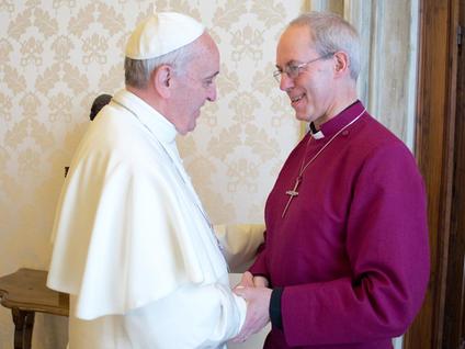 Các Giám mục Công giáo và Anh giáo cùng hành hương đến Canterbury và Roma